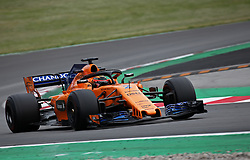 May 16, 2018 - Barcelona, Spain - Stoffel Vandoorne, team McLaren, during the Formula 1 testing at the Barcelona Catalunya Circuit, on 16th May 2018 in Barcelona, Spain.  Photo: Joan Valls/Urbanandsport /NurPhoto. (Credit Image: © Joan Valls/NurPhoto via ZUMA Press)