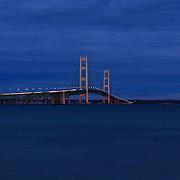 """""""Mackinac Bridge Night View"""""""