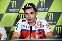 Danilo Petrucci of Italy and Osto Pramac Raciong Team during the press conference for the MotoGP of Catalunya at Circuit de Catalunya on June 10, 2017 in Montmelo, Spain.(ALTERPHOTOS/Rodrigo Jimenez)