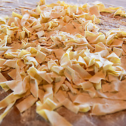 PHILADELPHIA, PA - APRIL 16:  Close up of pasta made by Chef Marc Vetri for guests at Lo Spiedo Restaurant during The Impossible Reservation: Philadelphia presented by Audi on April 16, 2016 in Philadelphia, Pennsylvania.  (Photo by Lisa Lake/Getty Images for Audi)