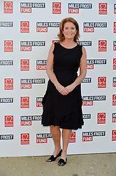 SARAH, DUCHESS OF YORK at the Frost Family Summer party in support of the British Heart Foundation and the Mile Frost Fund held at Burton Court, Chelsea, London  on 18th July 2016.