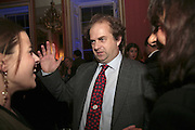 ALEXANDER WAUGH , Literary Review's Bad Sex In Fiction Prize.  In & Out Club (The Naval & Military Club), 4 St James's Square, London, SW1, 29 November 2006. <br />Ceremony honouring author who writes about sex in a 'redundant, perfunctory, unconvincing and embarrassing way'. ONE TIME USE ONLY - DO NOT ARCHIVE  © Copyright Photograph by Dafydd Jones 248 CLAPHAM PARK RD. LONDON SW90PZ.  Tel 020 7733 0108 www.dafjones.com