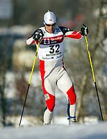Langrenn, 22. november 2003, Verdenscup Beitostølen, Carl Swenson, USA
