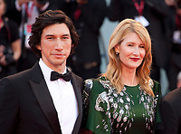Venice, Italy, 29th August 2019, Adam Driver, Laura Dern at the gala screening of the film Marriage Story  at the 76th Venice Film Festival. Doreen Kennedy / Alamy Live News