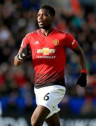 Manchester United's Paul Pogba during the Premier League match at the King Power Stadium, Leicester.