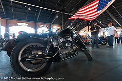 "The Jester's Pavillion at Destination Daytona hosted Warren Lane's ""True Grit"" pre-1977 vintage show during the Daytona Bike Week 75th Anniversary event. FL, USA. Sunday March 6, 2016.  Photography ©2016 Michael Lichter."
