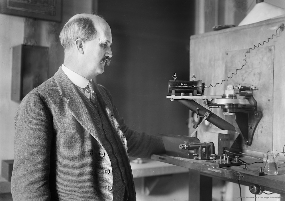 Sir William Henry Bragg, physicist and chemist, England, 1922
