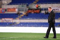 L'allenatore della Roma Zdenek Zeman dopo aver controllato lo stato del campo prima della partita<br /> Roma 19/11/2012 Stadio Olimpico<br /> Football Calcio 2012/2013 Serie A<br /> Roma Vs Torino<br /> Foto Andrea Staccioli Insidefoto