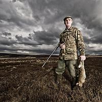 Mick the Gamekeeper - Walshaw Moor , Yorkshire