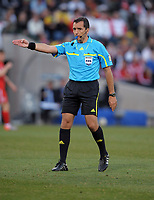 Jorge Larrionda (URU) Referee World Cup 2010<br /> Germany V England (4-1) 27/06/10 Round Of 16<br /> FIFA World Cup 2010<br /> Photo Robin Parker Fotosports International
