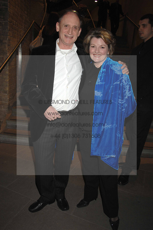 BRENDA BLETHYN and MICHAEL MAYHEW at Fast Forward - a fund-raising party for the National Theatre held at The Roundhouse, London NW1 on 1st March 2007.<br /><br />NON EXCLUSIVE - WORLD RIGHTS