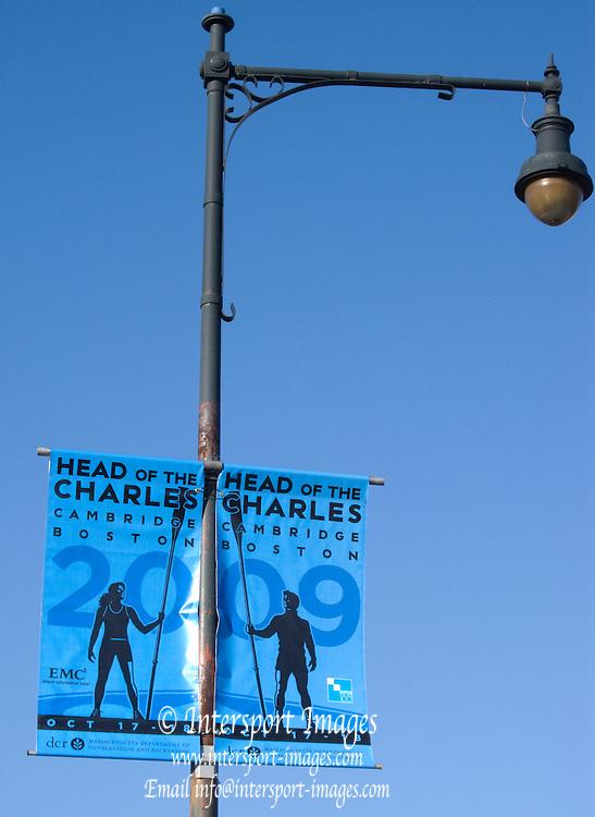 Cambridge; USA; GV Poster, Event Signage, October 2009; HOCR; Head of the Charles River; Cambridge/Boston; Massachusetts;  Mandatory Credit Karon PHILLIPS/Intersport Images]