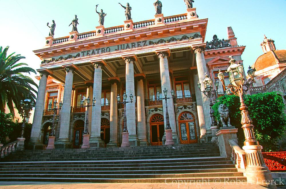 MEXICO, GUANAJUATO Juarez Theatre built in 1903 by Diaz