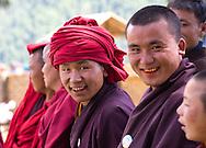Gangtey Monastery, consecration ceremony