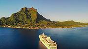 Bora Bora, Paul Gauguin Cruise Ship, French Polynesia, South Pacific