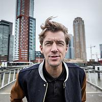 Nederland, Rotterdam, 22 februari 2016.<br />Winfried Baijens is een Nederlands journalist en radio/televisiepresentator.<br /><br /><br />Foto: Jean-Pierre Jans