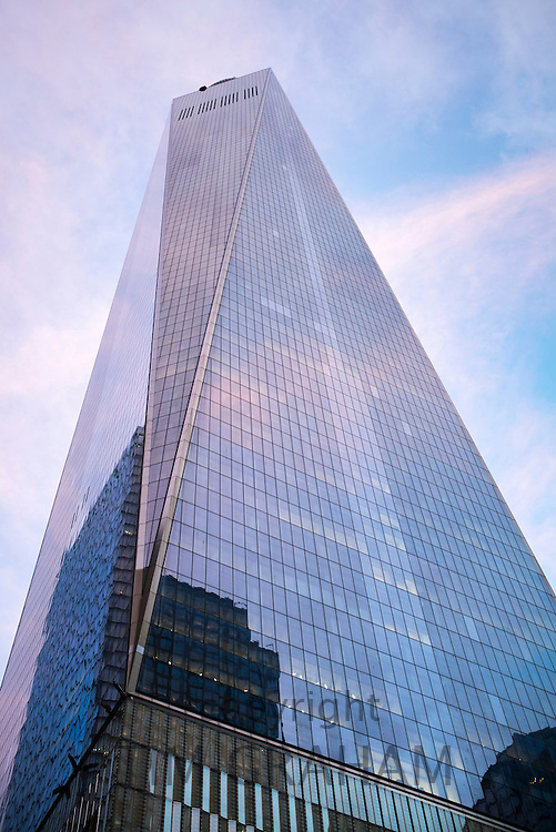 One World Observatory at One World Trade Center in Downtown New York, USA