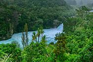 Oceania, New Zealand, Aotearoa, North Island, Taup, Huka River Falls,