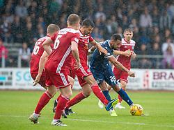 Dundee's Kane Hemmings. Dundee 1 v 0 Ayr United, Scottish Championship game played 10/8/2019.
