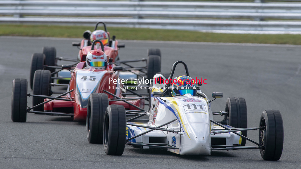#111 Ross MARTIN Van Diemen  during Avon Tyres Northern Formula Ford 1600 Championship  as part of the BRSCC Fun Cup Race Day at Oulton Park, Little Budworth, Cheshire, United Kingdom. April 13 2019. World Copyright Peter Taylor/PSP. Copy of publication required for printed pictures.