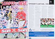 All Ireland Senior Hurling Championship Final,.03.09.2006, 09.03.2006, 3rd September 2006,.Senior Kilkenny 1-16, Cork 1-13,.Minor Tipperary 2-18, Galway 2-7.3092006AISHCF,.The Irish Sun,