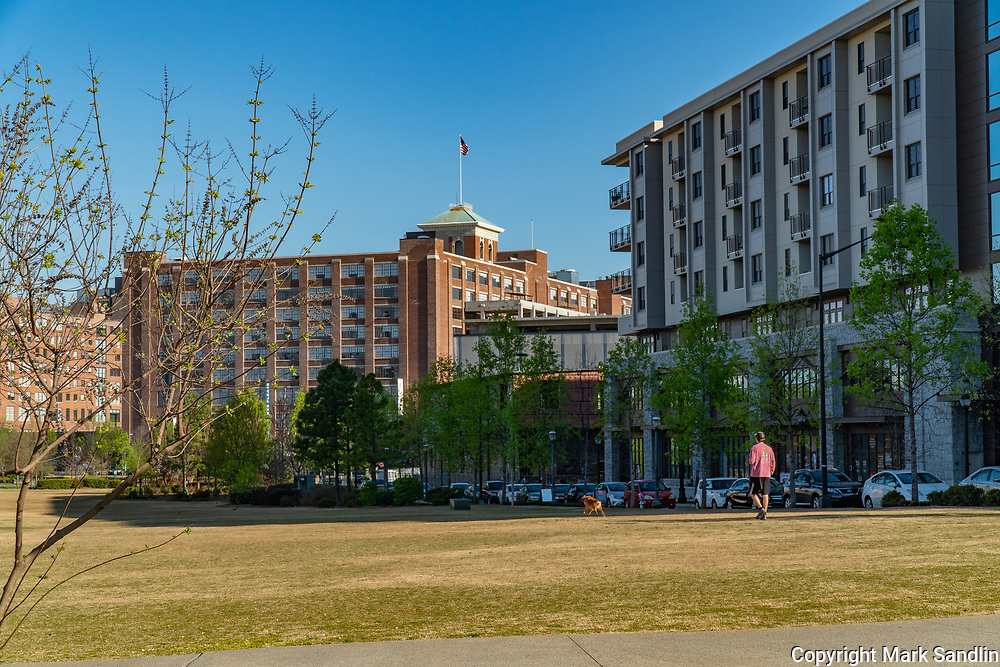 Historic Fourth Ward Park across from Ponce City Market