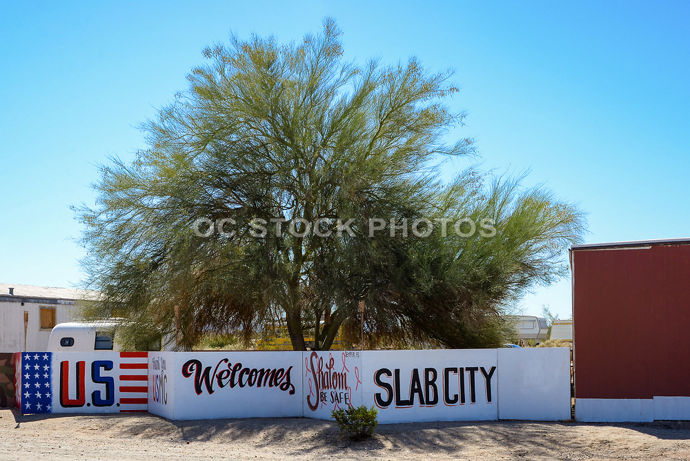 The Last Free Place in America Slab City California