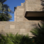 """The grounds of the historic Arizona Biltmore Resort and Spa are heavily influenced by American architect Frank Lloyd Wright. Fountains, palm trees, outdoor sculptures and the iconic """"Biltmore blocks"""" makes this resort unlike anywhere else in Arizona."""