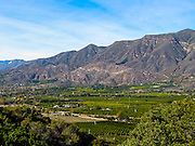 Ojai Valley of Ventura County California