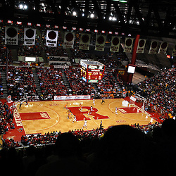 Jan. 3, 2009; Piscataway, NJ, USA; The Tennessee Lady Vols defeat the Rutgers Scarlet Knights 55-51 in NCAA Women's Basketball at the Louis Brown Rutgers Athletic Center.