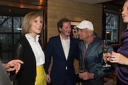 ELIZABETH PELLY; GUY PELLY; NICKY HASLAM, Spectator Life - 3rd birthday party. Belgraves Hotel, 20 Chesham Place, London, SW1X 8HQ, 31 March 2015