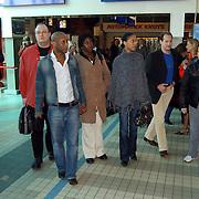 Persconferentie Joop van den Ende ivm samenwerking met de NS, cast Lion King.Nederlandse Spoorwegen,