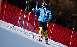 KOSI Klemenof Slovenia prior to the 1st Run of 8th Men's Giant Slalom - Pokal Vitranc 2012 of FIS Alpine Ski World Cup 2011/2012, on March 10, 2012 in Vitranc, Kranjska Gora, Slovenia.  (Photo By Vid Ponikvar / Sportida.com)