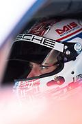 January 24-27, 2019. IMSA Weathertech Series ROLEX Daytona 24.  #911 Porsche GT Team Porsche 911 RSR, GTLM: Nick Tandy , Brumos throwback livery
