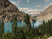 View over Attabad lake, upper Hunza.
