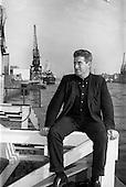 1963 - Robert Robb, stowaway at Dublin docks