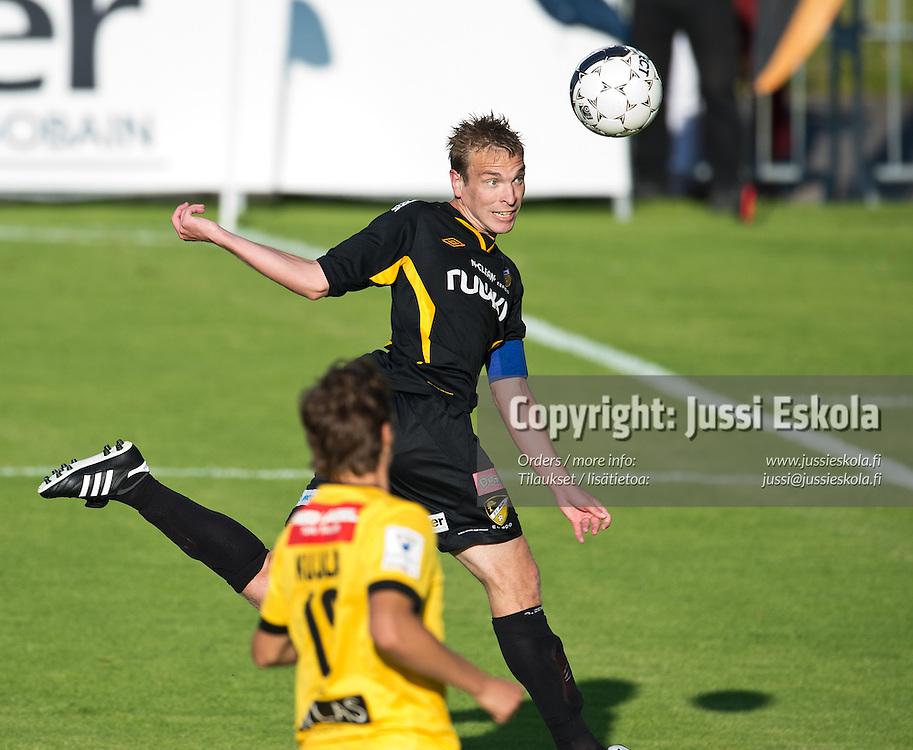 Jussi Vasara. Honka - KuPS. Veikkausliiga. Espoo 21.7.2013. Photo: Jussi Eskola