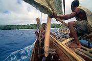 Papua New Guinea, Kitava Island, The Trobriands, Kula canoe<br />