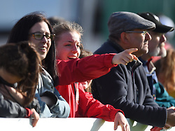 Spectator at the FA WSL 1 match between Bristol City Women and Liverpool Ladies at Stoke Gifford Stadium - Mandatory by-line: Paul Knight/JMP - 20/05/2017 - FOOTBALL - Stoke Gifford Stadium - Bristol, England - Bristol City Women v Liverpool Ladies - FA Women's Super League Spring Series