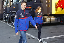 February 28, 2019 - Barcelona, Catalonia, Spain - Daniil Kvyat Scuderia Toro Rosso during F1 test celebrated at Circuit of Barcelona 28th February 2019 in Barcelona, Spain. (Credit Image: © Urbanandsport/NurPhoto via ZUMA Press)