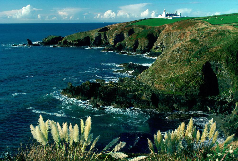 Lizard Lighthouse, Lizard Point, Cornwall, England