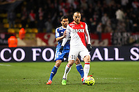 Dimitart BERBATOV / Lindsay ROSE - 01.02.2015 - Monaco / Lyon - 23eme journee de Ligue 1 -<br />