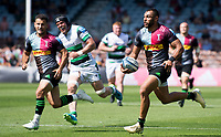 Rugby Union -2020/2021 Gallagher Premiership - Round 22 -<br />Harlequins vs Newcastle Falcons - The Stoop<br /><br />Joe Marchant in action against Newcastle Falcons