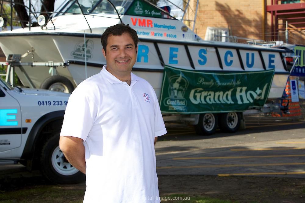 Mornington Volunteer Marine Rescue  , 2010 Club President, Col Strawbridge.