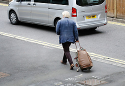 © Licensed to London News Pictures. 11/08/2018. Crawley, UK. BORIS JOHNSON walks from Gatwick Airport after returning from a short visit to Italy. The former foreign secretary has been criticised for language he used in a national newspaper column to describe women wearing the burka. Photo credit: London News Pictures