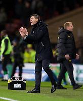 Football - 2019 Betfred Scottish League Cup Final - Celtic vs. Rangers<br /> <br /> Rangers manager Steven Gerrard, Hampden Park Glasgow.<br /> <br /> COLORSPORT/BRUCE WHITE