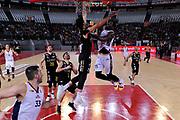 Henry Sims<br /> Virtus Roma - Bergamo<br /> Campionato Basket LNP 2018/2019<br /> Roma 20/01/2019<br /> Foto Gennaro Masi / Ciamillo-Castoria