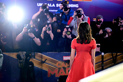 Gemma Chan attending the Captain Marvel European Premiere held at the Curzon Mayfair, London. Picture date: Wednesday February 27, 2019. Photo credit should read: Ian West/PA Wire