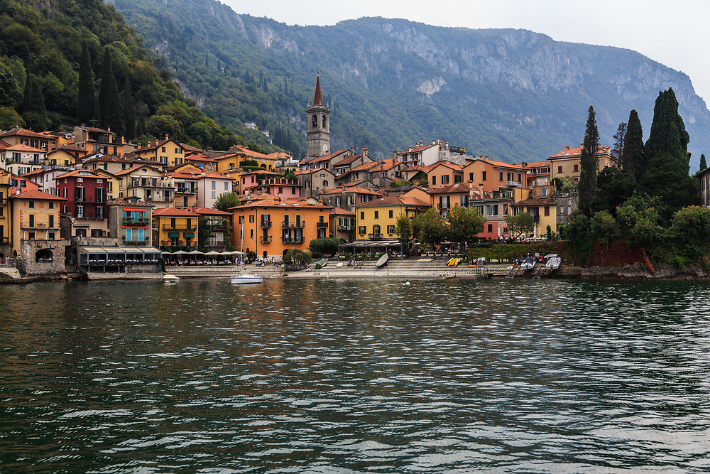 Varenna is an old picturesque fishing village on Lake Como, Italy. <br /> It's charming lanes, and old fishermen's houses give it more authentic air than the other more famous villages on the lake.