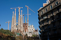 Sagrada Familia Barcelona Photography shoot in 2008 by Christopher Holt